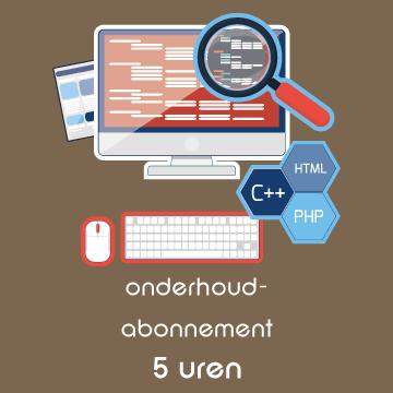 Onderhoud op websites en webshops gebouwd met WordPress: Onderhoudsabonnement