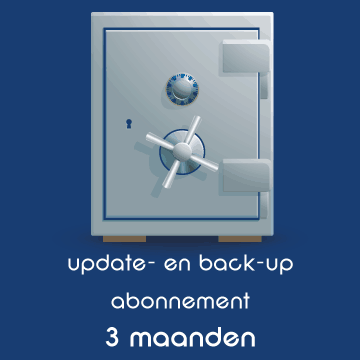 Websites en webshops - update- en back-up abonnement