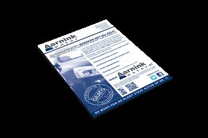 Grafisch ontwerp - Flyer Aarnink Auto's