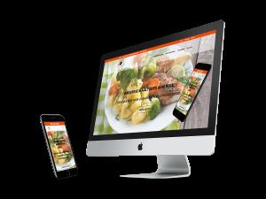 Website Kolk & De Maître Maaltijdenservice